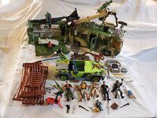 Jurassic Park Lost World Mobile Command Center Huge Lot Vehicles Humans Dinasaur
