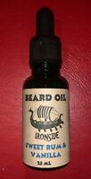 Ironside Beard Oil SWEET RUM & VANILLA