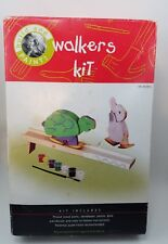 Build and Paint Walkers Kit Kids Craft Wood Rabbit and Turtle Hare
