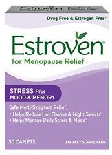 Estroven for Menopause Relief 30 capsules Stress+Mood and memory