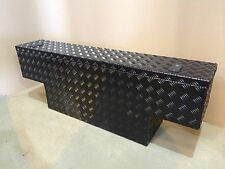 Powder coated 400mm deep aluminium tub storage box Land Rover 90 110 defender