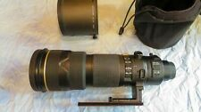Nikon Zoom Nikkor 200-400mm AF-S SWM  f/4 VR IF ED Excellent+ Condition