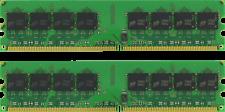 4GB (2X2GB) DDR2 DESKTOP MEMORY 533MHz PC2-4200 NON-ECC UNBUFFERED DIMM