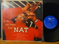 Nat Adderley - To The Ivy League From Nat 1956 Cannonball Adderley Sam Jones LP