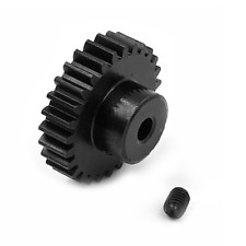 27T Metal Motor Pinion Gear 3.175mm Hole Black for WLtoys 144001 1/14 RC Car