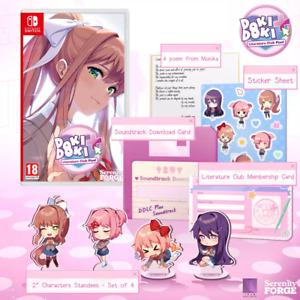 Doki Doki Literature Club Plus! Edición Premium Switch Pal España Nuevo Fisico