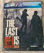 Steelbook The Last of US Remastered *{No Game}*