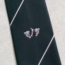 Vintage Tie MENS Necktie Crested Club Association Society COW