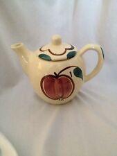 Vintage ~ Purinton Pottery ~ Teapot ~  Apple & Pear Design ~ 2 Cup Size