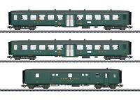 """Märklin H0 43385 Schnellzugwagen-Set 2 """"D96 Isar-Rhone"""" Insidermodell NEU + OVP"""