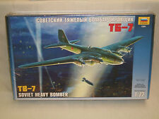 Zvezda 1/72 Scale TB-7 Soviet Heavy Bomber - Factory Sealed