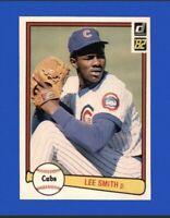 1982 Donruss Set Break #252 Lee Smith Rookie Baseball Card Chicago Cubs HOF
