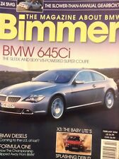 Bimmer BMW Magazine BMW 645Ci & BMW Diesels February 2004 020718nonrh