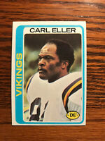 1978 Topps #79 Carl Eller Football Card Minnesota Vikings Raw