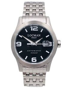 Orologio Locman Island Automatico 615ACK/460 Acciaio 40mm Scontatissimo Nuovo