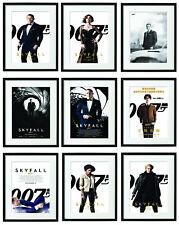 Skyfall James Bond Movie FRAMED Poster Film Prints Daniel Craig