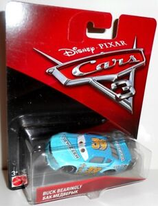 CARS 3 - BUCK BEARINGLY - View Zeen 39 Disney Pixar Cars auto Mattel 1:55 scale