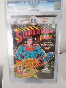 Superman #300 (6/76) CGC 9.0 DC Comics