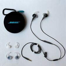 Bose SoundSport In Ear 3.5mm Wired Headphones Charcoal for Android 741776-0070