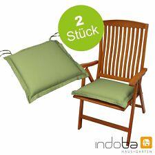 Stuhlkissen Sitzkissen Stuhlauflage Sitzauflage Polsterauflage Grün 50x50 cm
