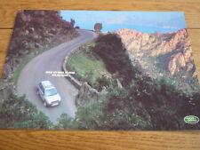 Land Rover Range Rover Folleto, poco diferente tarde 90's Jm