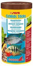 sera cichlids Sticks - Die Basisfuttersticks für Cichliden (1 x 1000 ml)