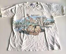 "Vintage 1990's Busch Gardens ""Extinction Is Forever� Single Stitch Size Large 44"