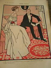 Propose Pointu Je vous ferais voir du Pays ! Print Art Déco 1907