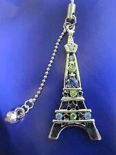 fashion paris eiffel tower charm metal bag charm cell phone strap  Ca un3012