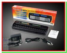 Caricabatterie per Pile Ricaricabili NC-1600 LCD x AA AAA Stilo Ministilo Ni-MH