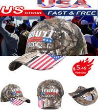 Donald Trump 2020 Cap USA Flag Camouflage Baseball Cap Sport Hat Keep Make Great