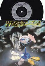 Marillion ORIG UK PS 45 Sugar mice EX '87 EMI MARIL7 Prog Rock Art Rock