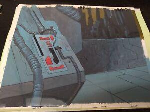 Vintage SHE-RA animation cels BACKGROUND PRODUCTION ART anime MOTU cartoons 80's