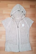 Lovely DKNY Knitted Cardigan with Hood, size US L or UK10-12 - VGC