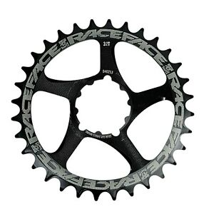 Race Face 32T Narrow-Wide Sram GXP Direct Mount Alloy Chainring 9-12-Spd (Black)