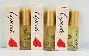 3 X LipCote original Lipstick Sealer Boxed