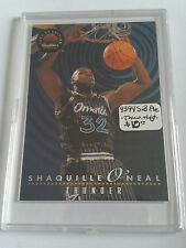 1993-94 SkyBox Premium Thunder and Lightning #TL6 Shaquille O'Neal/ A. Hardaway
