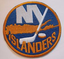 """New York Islanders Embroidered Patch~3 1/2"""" Round~Iron Sew~US Seller~Ships FREE"""