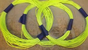 3 lengths 1.8 mm Dyneema Throw Line, Synthetic String, 12-Strand Braid, 219 feet