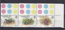 TIMBRE STAMP 3 ILES SEYCHELLES ZIL Y&T#29-31 FAUNE NEUF**/MNH-MINT 1981 ~A85