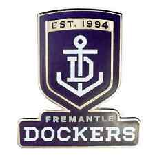 33681 FREMANTLE DOCKERS AFL TEAM LOGO MASCOT LAPEL TIE HAT PIN