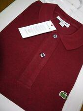 Lacoste para Hombre Clásico Calce Ajustado Camisa Polo FR 3/4 S/M PVP: - £ 85