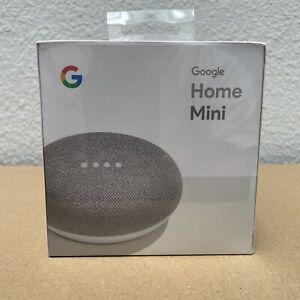 Google Home Mini Smart Speaker Chalk -BRAND NEW SEALED