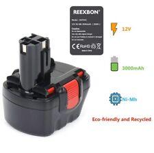 Bosch PSR12 Battery 12V REEXBON Nimh Replacement Battery Bosch Akku PSR12 3Ah