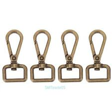 4pcs Metal Carabiner Ring Key Chain Keychain Clip Hook Outdoor Buckle Bag Snap