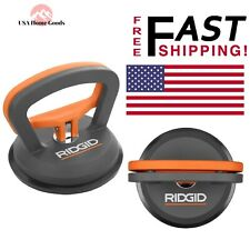 Ridgid Suction Cup Higher Grade Rubber Durable Easily Clean Thin Set Hand Tool