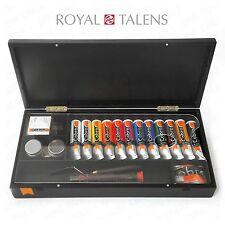 Royal Talens Oil Art Set in Premium Black Gift Box - 12 Paints