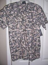 Nwt U.S. Army Camo Design Uniform Scrub Top Size Medium