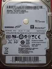 Samsung ST1000LM024 HN-M101MBB /SCC | P/N: C7882-G14A-D2GH1 | 04/2013 | 1TB