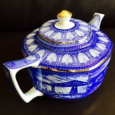 Rare Antique Art Deco (1920s) Ringtons English Wade Ceramics Collector's Teapot